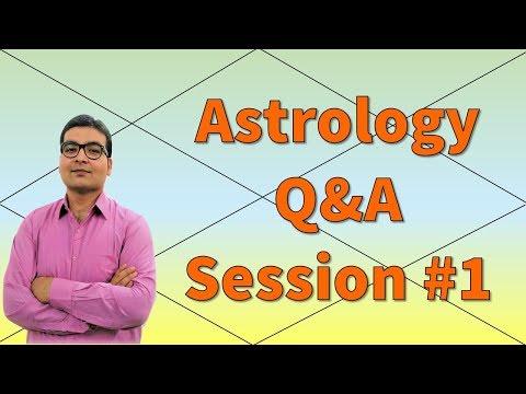 Astrology Q&A Session #1 (Hindi)