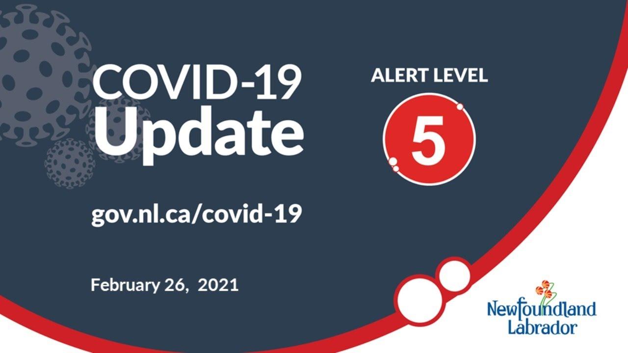 February 26, 2021 COVID-19 Update