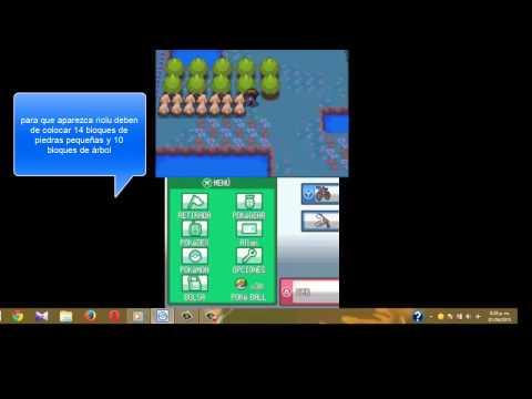 Como capturar a Riolu Soul Silver y heart gold en emulador