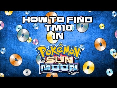 How To Find TM10 Hidden Power in Pokemon Sun and Moon!