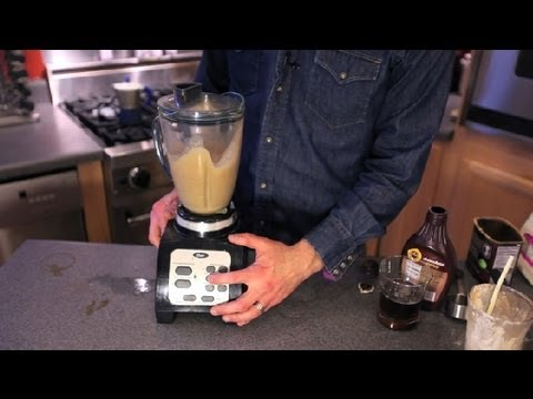 How to Make an Ice-Blended Espresso Mocha : Coffee