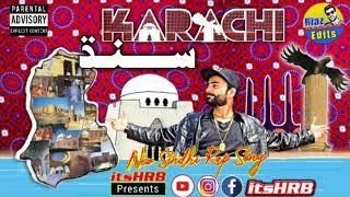 Karachi Sindh   By itsHRB   SINDHI RAP 2020   PROD BY BLIV BEATS  