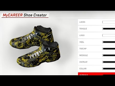 CUSTOM CREATING MY OWN SIGNATURE JORDAN SHOE! NBA 2K18 My Career!