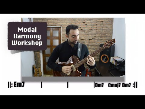 How to Construct Modal Chord Progressions - Modal Harmony Workshop