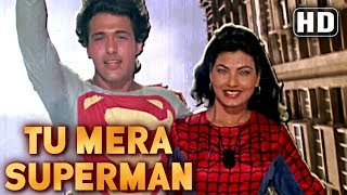 Tu Mera Superman - Govinda - Kimi Katkar - Dariya Dil - Comedy  Week Special