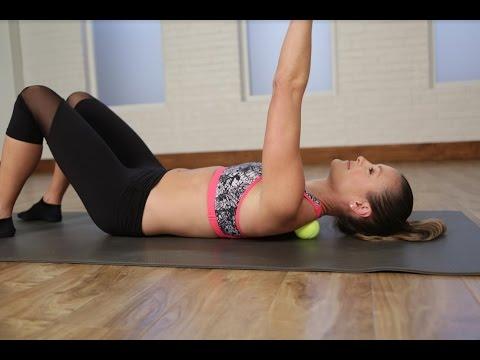 4 Ways to Self-Massage With a Tennis Ball  | Class Fitsugar
