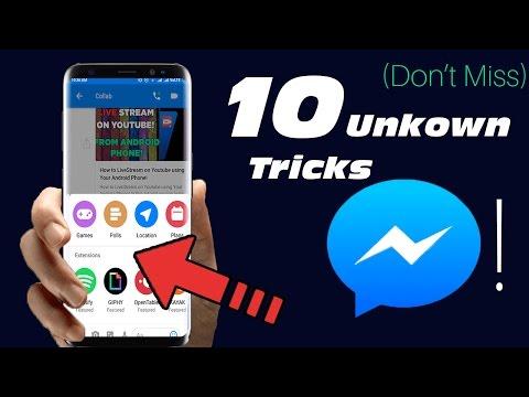 10 Super Cool Unkown Messenger Tricks 2017