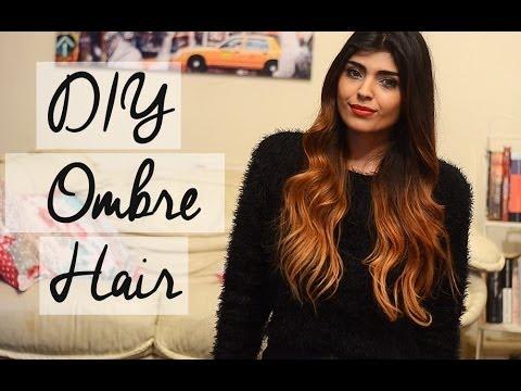 DIY Ombre Hair Tutorial / Talk For Dark Brown And Black Hair  |  shewearsfashion
