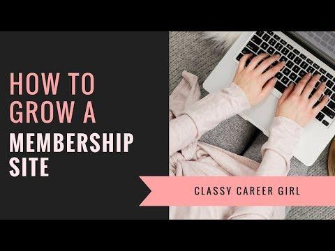 How To Grow a Membership Site