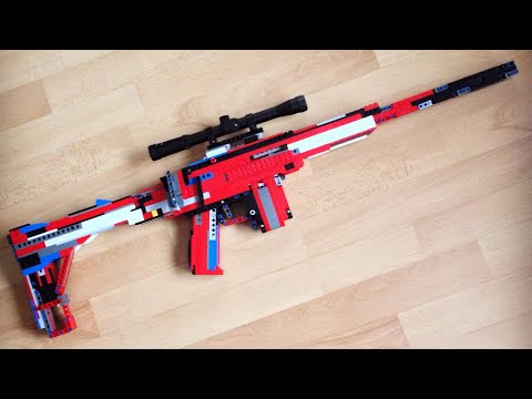 LEGO Sniper Rifle (Working)