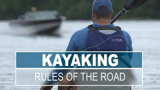 Kayaking in High Traffic Areas - Rules of the Road