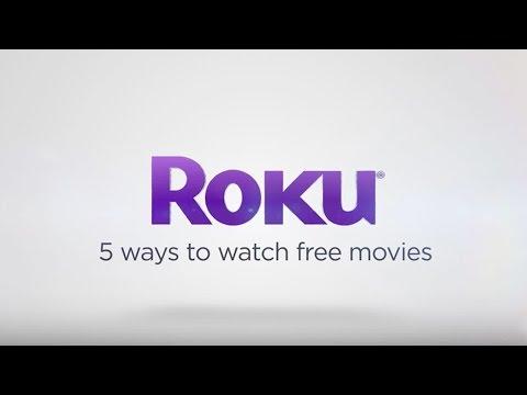 5 ways to watch FREE movies on the Roku platform