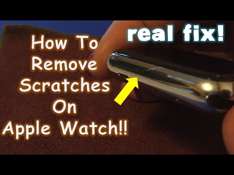 How To Remove Apple Watch Scratches [EASY FIX!]