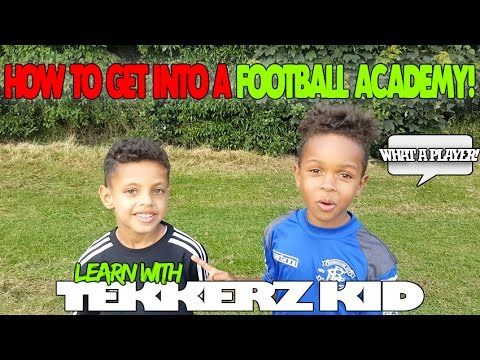 How To Get Into An Academy #2 |Learn Football Drills | Tekkerz Kid
