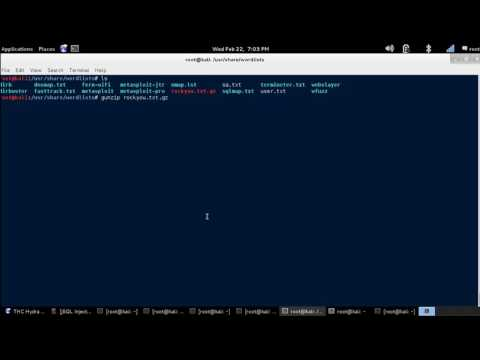 Linux Tutorial - How to use GunZip to Extract a Compressed .gz File. [Kali Linux]