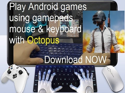 Phoenix OS Key Mapping Octopus App For All X86 Android Operating System Play PUBG Games