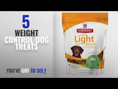 Top 5 Weight Control Dog Treats [2018 Best Sellers]: Hill's Science Diet Light Dog Snacks, Baked