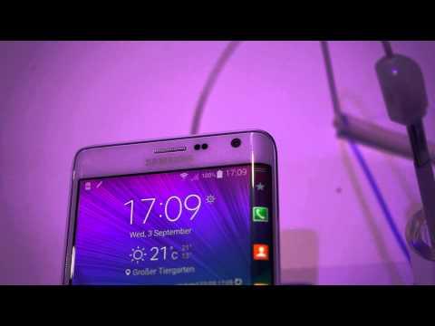 Samsung Galaxy Note Edge Hands On
