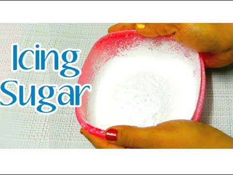 Icing Sugar,आइसिंग शुगर,Confectioners Sugar,How to make icing Sugar,Icing Sugar Recipe by Sweta