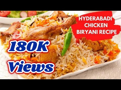 How to prepare Asli Hyderabadi Chicken Dum Biryani Recipe | English Subtitles