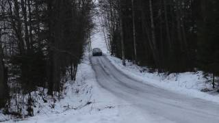 RALLIRINKI Jari Matti Latvala - Toyota Yaris WRC, Rally Sweden test, Finland 22 12 2016