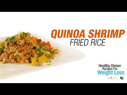 Quinoa Shrimp Fried Rice - Healthy Dinner Recipes for Weight Loss - BPI Sports