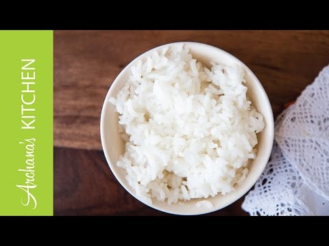 How To Cook Rice in a Pressure Cooker by Archana's Kitchen