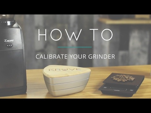 Calibrating a grinder with the KRUVE Sifter