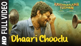 Dhaari Choodu Full Video Song    Krishnarjuna Yudham Songs    Nani, Anupama, Hiphop Tamizha