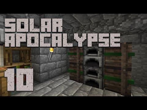 ►Solar Apocalypse LP: CLEAN UP!   Ep. 10   Modded Minecraft Survival◄