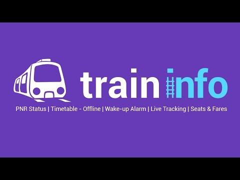 Train Info - PNR   Rail Status - Android Mobile App