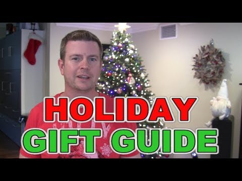 HOLIDAY CHRISTMAS GIFT GUIDE 2017 GADGET TECH GEEK HOME PRODUCTS
