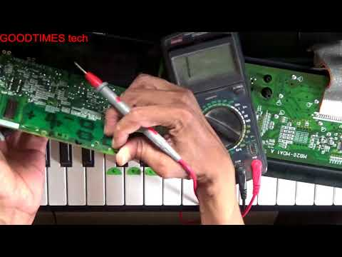 CASIO CTK1150 | No Sound | Display very light.