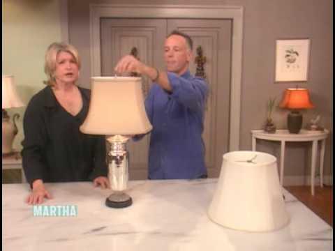 How to Choose a Lamp Shade ⎢Martha Stewart