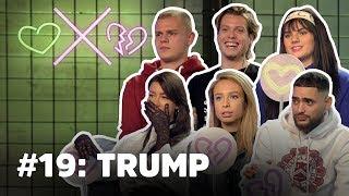 'President Trump voor mij in één woord?! KWAL!'   Loiza Lamers, Famke Louise & Josylvio HATEN Trump.
