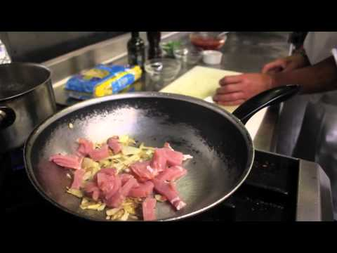Rigatoni Amatriciana Recipe from Chef Luca
