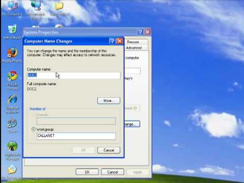 How to find your Windows workgroup