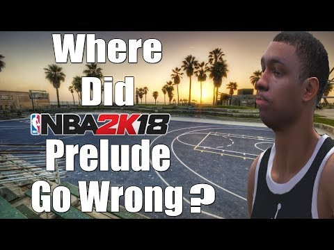 Where did NBA 2K18 Prelude Go Wrong Compared to NBA Live 18 Demo?