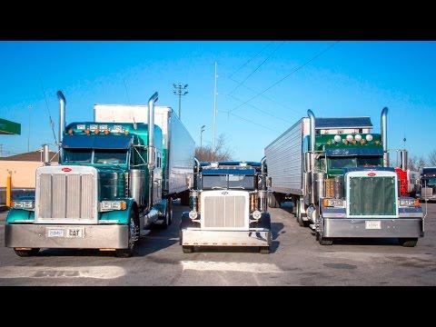 Lil Big Rigs: Mechanic Gives Pickup Trucks An Eighteen-Wheeler Makeover