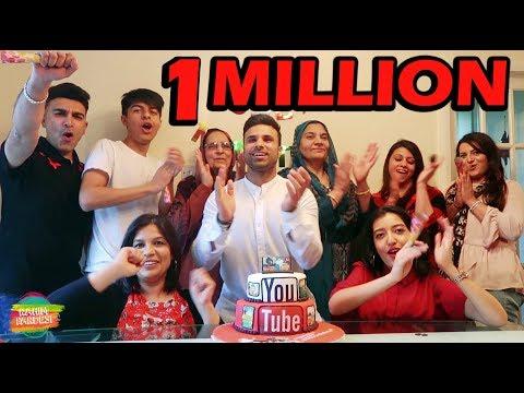 1 Million Subscribers!!! | Rahim Pardesi