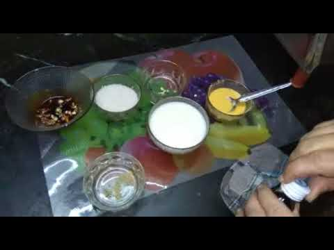 How to make custard milk pudding in tamil