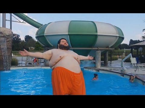 Dramatic Fat Guy Splash 3