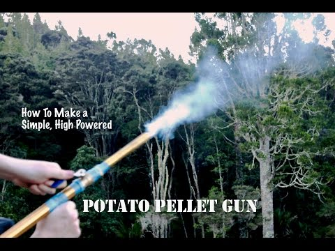 How to Make a Potato Gun