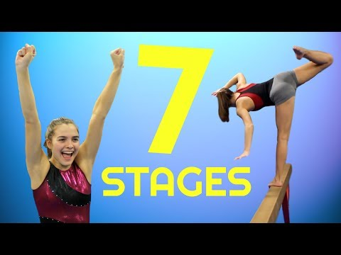 The 7 Stages of Gymnastics Practice