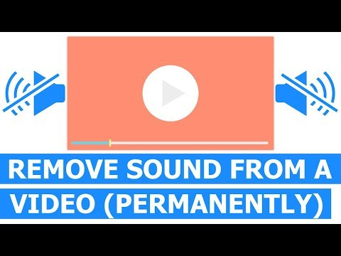 How To Remove Sound From A Video Using Lightworks (Easy Way)