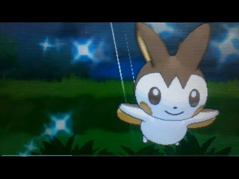 [ LIVE! ] Shiny Emolga on Pokemon X!