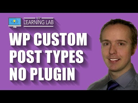 How To Create A WordPress Custom Post Type Without A Plugin