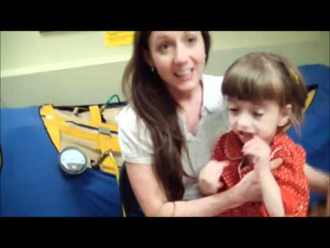 Grace a Cerebral Palsy Patient treated with Hyperbaric Oxygen Therapy at the Sahara Clinic