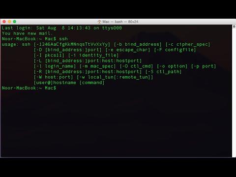 SSH Server Setup & Config | Kali Linux | Mac OS X | Windows 7/8.1/10