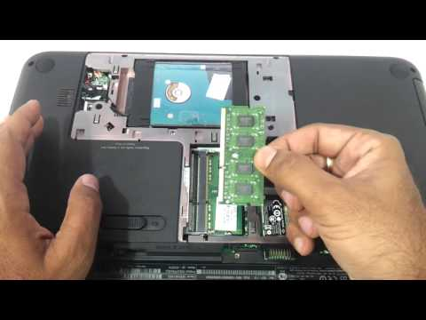 HP pavilion G6 2000 how to upgrade ram and harddrive 2202 2207 2228 2227